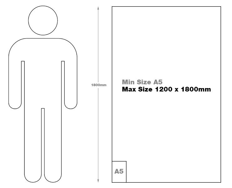 Lenticular strutcard size